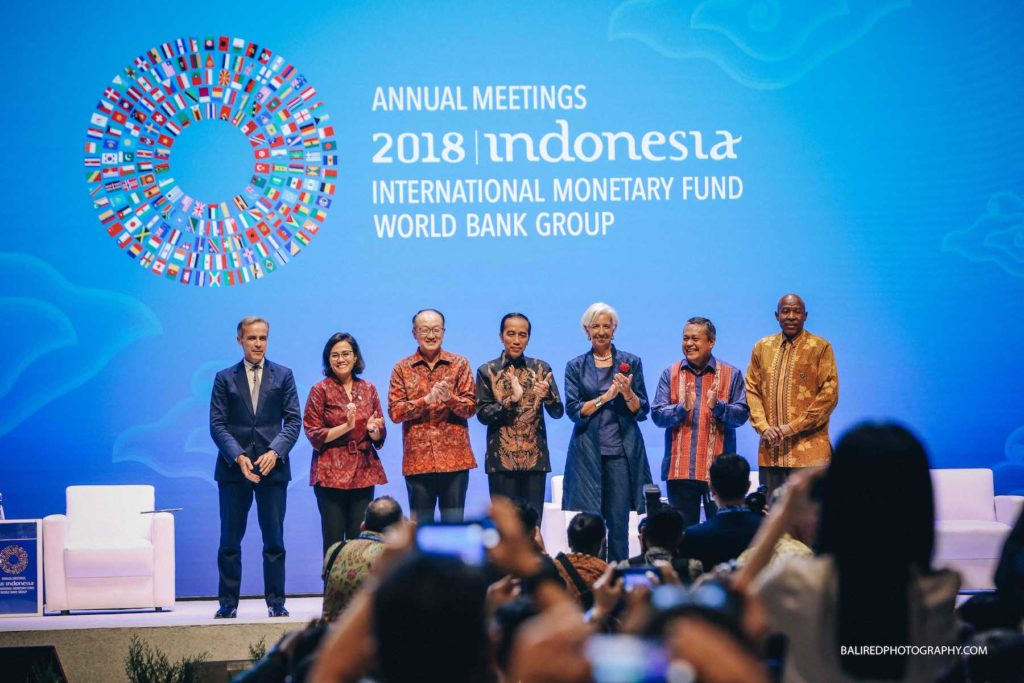 Nusa Dua Bali / Annual Meetings 2018 IMF & World Bank
